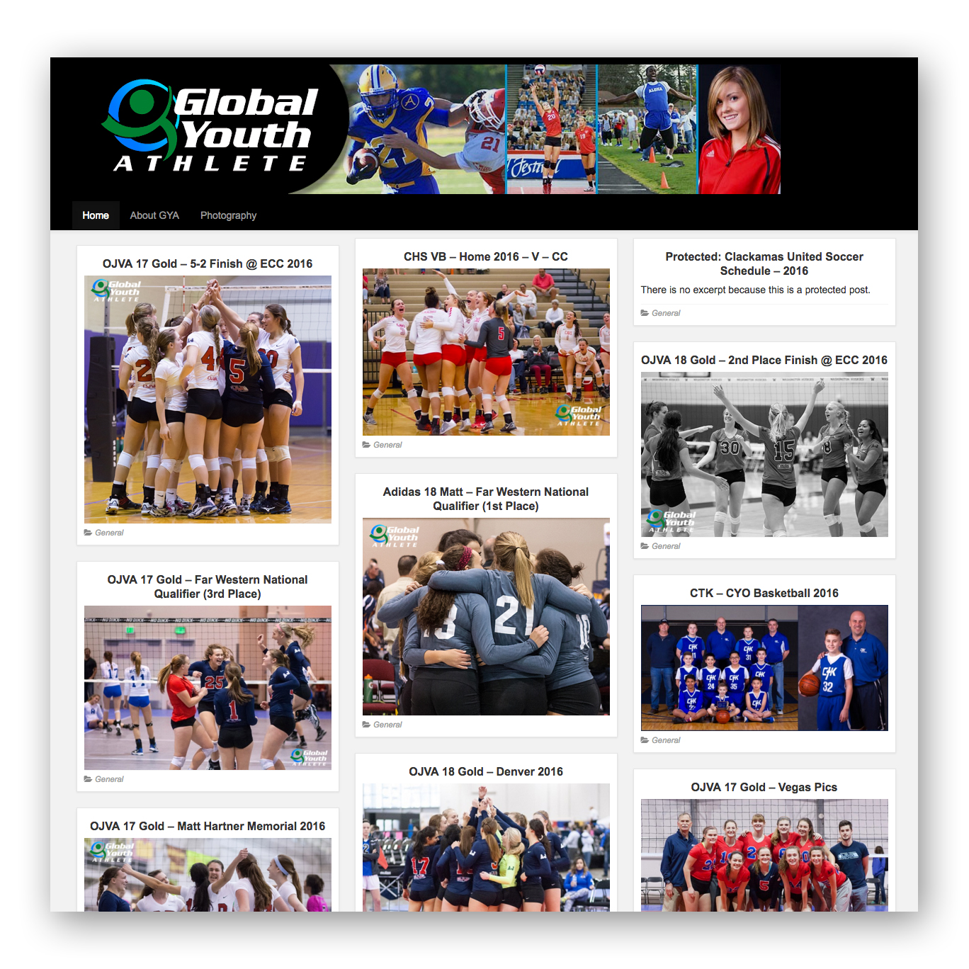 Global Youth Athlete